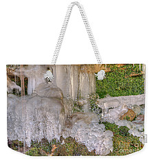 Ice Formations Weekender Tote Bag