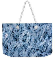 Ice Grass Growing Weekender Tote Bag by Rainer Kersten