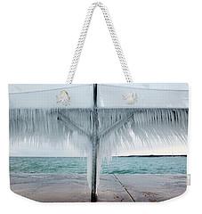 Ice Line Weekender Tote Bag