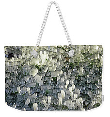 Ice On The Lawn Weekender Tote Bag