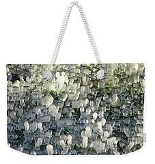 Ice On The Lawn Weekender Tote Bag