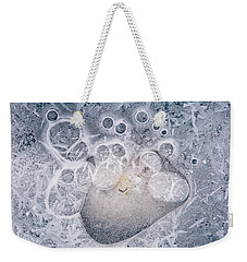 Ice Pattern Two Weekender Tote Bag by Davorin Mance