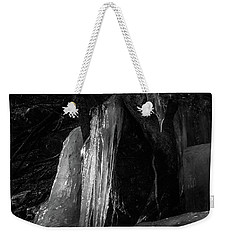 Icicle Of The Forest Weekender Tote Bag by Tatsuya Atarashi