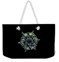 Ice Relief, Black Version Weekender Tote Bag by Alexey Kljatov