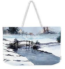 Ice Scape 2 Weekender Tote Bag