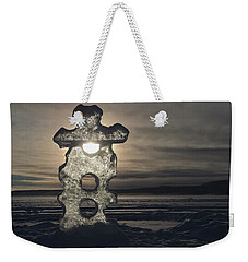 Ice Sculpter Weekender Tote Bag by Scott Holmes