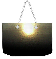 Ice Sunrise Weekender Tote Bag