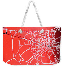 Ice Web Weekender Tote Bag