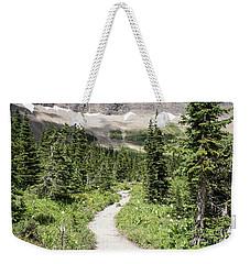 Iceberg Lake Trail Forest Weekender Tote Bag