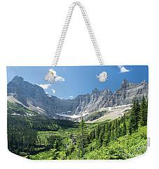 Iceberg Lake Trail - Glacier National Park Weekender Tote Bag