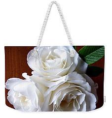 Iceberg Rose Trio Weekender Tote Bag