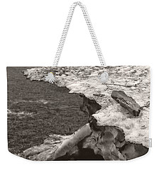 Iceberg Silo Weekender Tote Bag by Heather Kirk