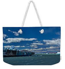 Icebergs In Viedma Lake - Argentina Weekender Tote Bag by Stuart Litoff