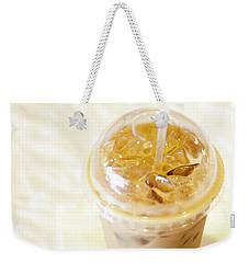 Iced Coffee 1 Weekender Tote Bag
