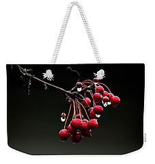 Iced Crab Apples Weekender Tote Bag