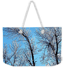 Iced Trees Weekender Tote Bag