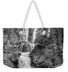 Icefields Waterfall Weekender Tote Bag