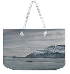 Iceland East Coast Panorama Weekender Tote Bag