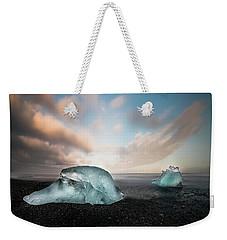 Iceland Glacial Ice Weekender Tote Bag