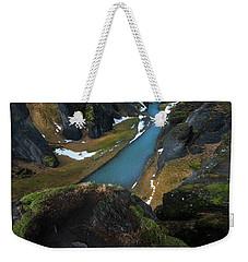 Iceland Gorge Weekender Tote Bag