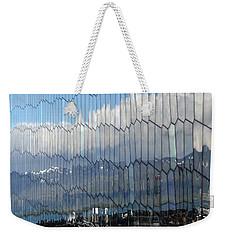 Iceland Harbor And Mountains Weekender Tote Bag