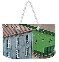 Iceland School Playground 7281 Weekender Tote Bag