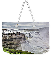 Iceland Weekender Tote Bag by Shirley Mangini