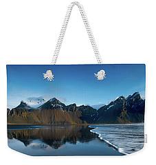 Iceland Sunrise Weekender Tote Bag