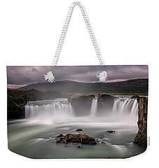 Iceland Waterfall Weekender Tote Bag