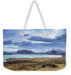 Icelandic Blues Weekender Tote Bag