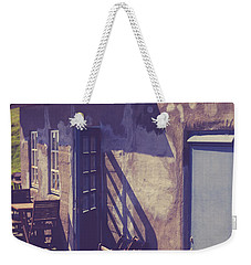 Weekender Tote Bag featuring the photograph Icelandic Cafe by Edward Fielding