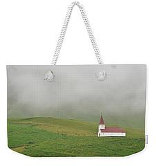 Icelandic Chapel Weekender Tote Bag