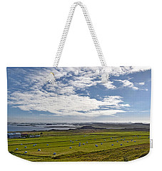 Icelandic Panorama Weekender Tote Bag