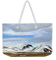 Icelandic Wilderness Weekender Tote Bag