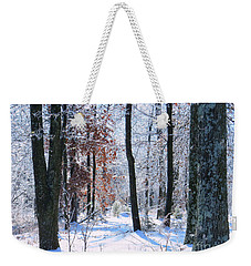 Icey Forest 1 Weekender Tote Bag by Craig Walters