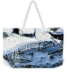 Icicle Bells Weekender Tote Bag