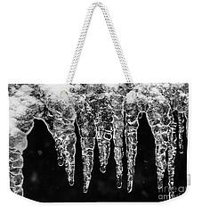 Icicles I Weekender Tote Bag