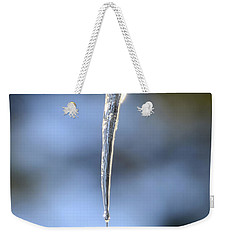 Icicles In Bloom Weekender Tote Bag