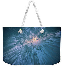 Weekender Tote Bag featuring the photograph Icicles by Rick Berk