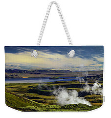 Icland Weekender Tote Bag by Richard Engelbrecht