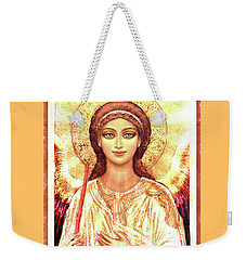 Icon Angel In A White Halo Weekender Tote Bag
