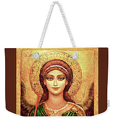 Icon Angel In Green Weekender Tote Bag
