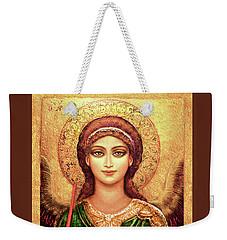 Icon Angel In Green Weekender Tote Bag