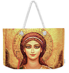 Icon Archangel Gabriel Weekender Tote Bag