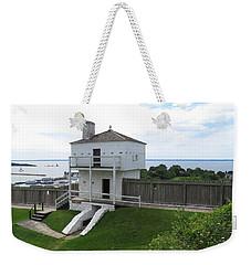 Iconic West Blockhouse Weekender Tote Bag