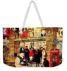 Iconic London Weekender Tote Bag by Judi Saunders