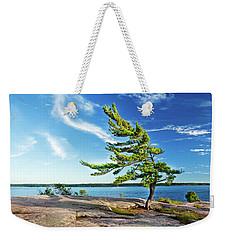 Iconic Windswept Pine Weekender Tote Bag