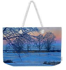 Icy Beauty Weekender Tote Bag