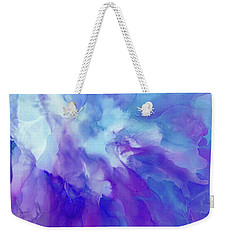 Icy Bloom Weekender Tote Bag