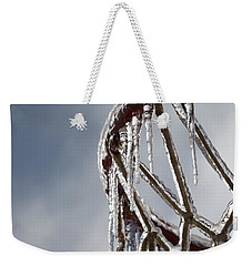 Icy Hoops Weekender Tote Bag by Nadine Rippelmeyer